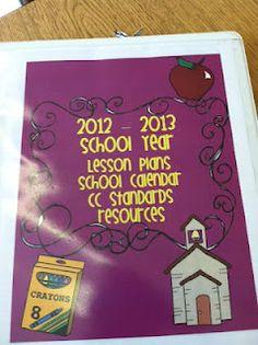 Special Ed. Teacher's binder organization   # Pin++ for Pinterest #