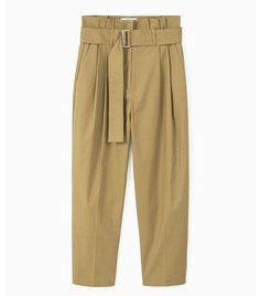 Spring weekend outfit ideas: Mango high waisted trousers