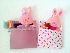 Are you searching for a gift for 8 years old girl? I present to you this pretend play set with two cute bunnies. The girls like soft bunny toy. These are bunnies soft dolls, rag dolls for pretend play. Little girls love to play with tiny dolls and have accessories for them. I create two little stuffed bunnies that go to bed and tell stories. One of them has a tiny Teddy Bear and the other one has a little book to read. They can stay in their beds or outside to play. This item includes 2…