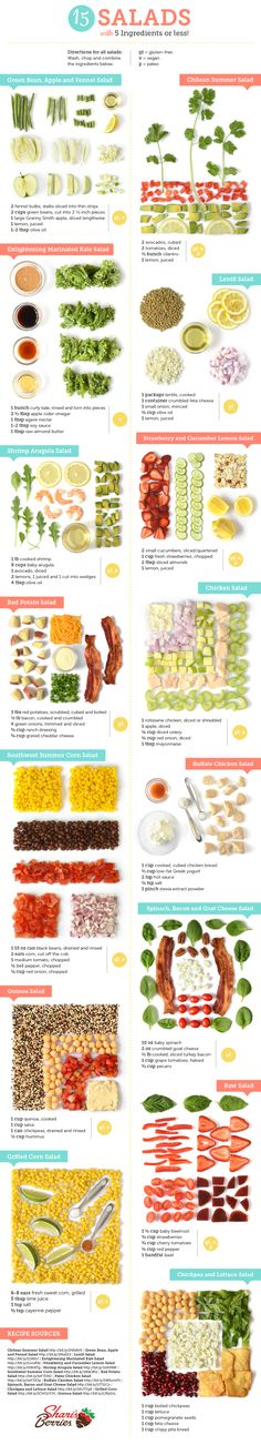 15 Salads With 5 Ingredients or Less | Shari's Berries Blog
