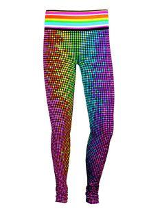 Kids Leggings in 'Disco Dot'