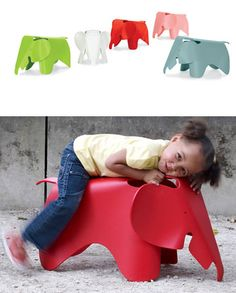 Eames Design: Eames Elephant Chair from Charles & Ray Eames by Vitra: for the price, you'd kind of think they'd guarantee happiness