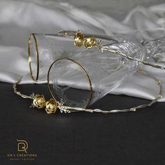 Για τους πιο ρομαντικούς... Στέφανα Garden of love!!! Wedding Wreaths, Crown, Bridal, Bracelets, Jewelry, Corona, Jewlery, Jewerly, Schmuck