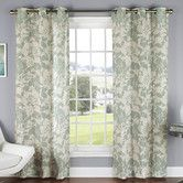 Found it at Wayfair - Peony Luxury Poly Duck Cloth Grommet Curtain Panel Pair Floral Curtains, Cool Curtains, Grommet Curtains, Window Curtains, Window Curtain Designs, Soothing Colors, Outdoor Rooms, T 4, Farmhouse Decor