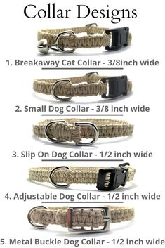 Macrame Hemp Pet Collars for cats or dogs. Custom hemp colors, charms, and bead options to personalize a collar for your favorite fur baby. Diy Dog Collar, Pet Collars, Cortes Poodle, Carillons Diy, Breakaway Cat Collars, Dog Accessories, Dog Friends, Diy Stuffed Animals, Pet Supplies