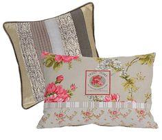 Jeito de Casa: Almofada floral: essa merece uma postagem!!!