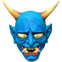 The Blue Oni Demon takes great pleasure in causing terror. How could a such a colorful creature be so fearsome?