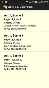 Actor Notepad - screenshot thumbnail