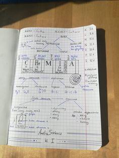 back to school School Organization Notes, Notebook Organization, Life Is Strange, Biology, Chemistry, Notebooks, Back To School, Bullet Journal, Sketch