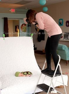 Behind the Scenes {newborn} with Crystal » Crystal Satriano Photography Scranton, PA