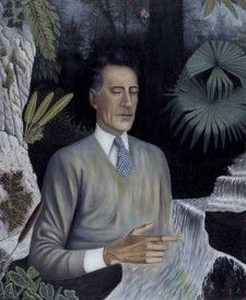 Edouard Dermit portrait of Jean Cocteau, 1958