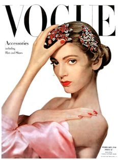 Carmen Dell'Orefice 1947 first Vogue Cover Ph.Erwin Blumenfeld