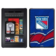 New York Rangers® - Home Jersey design on Thinshield Case for Amazon Kindle Fire by Coveroo. $39.95. This hard shell polycarbonate case offers a slim fit form factor, while covering the back and sides of your Kindle Fire. Save 11%!
