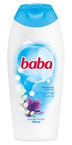 Baba Gyöngyvirág és Viola tusfürdő Water Bottle, Personal Care, Drinks, Drinking, Personal Hygiene, Water Bottles, Drink, Beverage