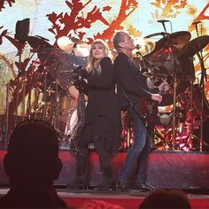On With The Show, Kansas City, March 28, 2015 Stevie & Lindsey