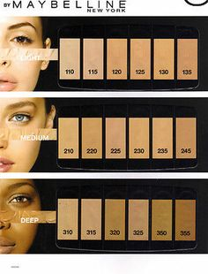 Maybelline Fit Me Foundation , You Choose Your Shade!