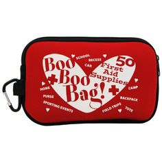Teacher Peach Boo Boo Bag Portable Neoprene Soft Travel First Aid Kit with Zipper * Continue to the product at the image link.