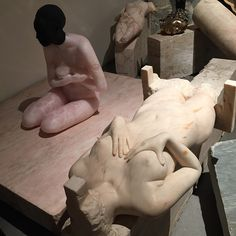 phantom limb stone garden by vanessa beecroft at venice biennale