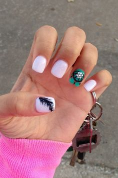 dream catcher nails!!! OMG!!!!!!!!!!!