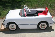 Corvette Pedal Car ... =====>Information=====> https://www.pinterest.com/konahandyman/peddle-cars/