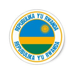 Shop Rwanda Round Emblem Classic Round Sticker created by KDR_DESIGN. Rwanda Flag, Political Events, Flags Of The World, National Flag, Custom Buttons, Round Stickers, Art For Kids, Custom Stickers, Activities For Kids
