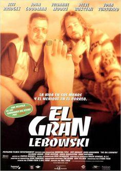 El gran Lebowski (1998) EEUU. Dir: Joel e Ethan Coen. Comedia. Sátira. Películas de culto - DVD CINE 283