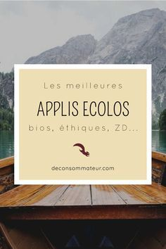 - Smartphones - Les meilleures applications écolos / bios / éthiques / ZD Selection of eco apps, bios, These apps for smartphone and tablet will help you in your approach zero waste / simplicity / antigaspi everyday :]. Application Telephone, Zero Waste Home, Green Organics, Eco Green, Selection, Less Is More, Green Life, Sustainable Living, Feng Shui