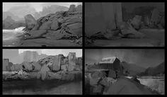 rocks , Mohamed Gadi on ArtStation at https://www.artstation.com/artwork/rocks-36a231df-9985-4041-8c31-2f3a50d27720