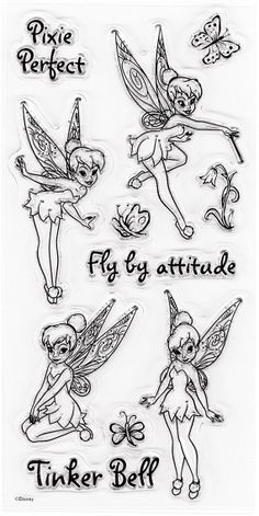 New11pc EK Success Disney TINKER BELL by YourScrapbookingShop, $6.95