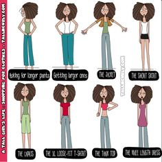 Tall N Curly - A tall girl's life: shopping for clothes