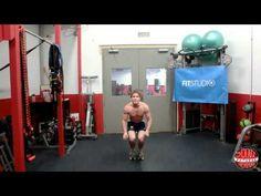 Zo doe je een Burpee met pushup voor beginners. www.PersonalTrainerHellevoetsluis.nl