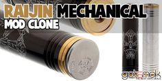 Raijin Mechanical MOD Clone $20.52 | GOTSMOK.COM