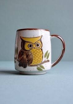 owl mug ♥