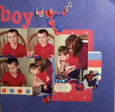 Birthday Boy - Scrapjazz.com