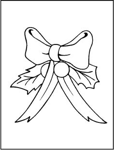 Happy Holidays FREE Printable Christmas Wreath Coloring Page For Kids