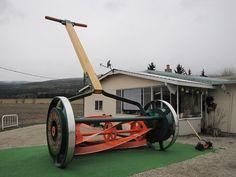 Giant Push mower - BC, Canada