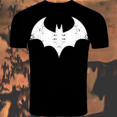 Inspired Batman Logo T-Shirt Screenprinted By KBD #Batman #ImBatman #T-Shirt #DCcomics #kbd