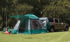 Outback Tent on SUVs and Mini Vans