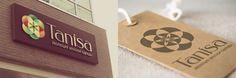 """""""Tanisa"""" - логотип для небольшой сети розничных магазинов женской одежды и аксессуаров. Дизайнер - Ольга Шу. #логотип #цветок #семя #seed #flower #logo #лого #дизайн #design #logodesign #logotype #tailroom #inspiration"""