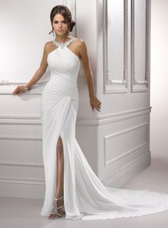 Maggie Sottero: Alexa  In stock in Ivory.  Like us on Facebook: http://www.facebook.com/pages/Stephensons-of-Elkhart/121630235261