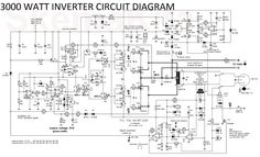 1KVA (1000 watts) Pure Sine Wave Inverter Circuit | ELECTRICOS ...