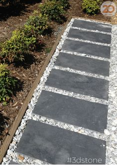 Bring your garden path to life | Blacksea Limestone used as stepping stones | 3D Stone only source high quality natural stone #tropicalgarden #garden #gardenpath #blacksealimestone #homeinspo #homeinspiration #exteriorismo #exteriorinspo #3dstone #naturalstone #stone #architect #landscape #outdoor #architecture