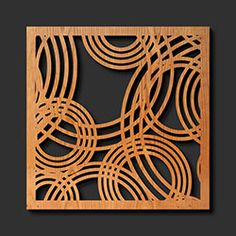 Decorative Laser Cut Wood Trivets