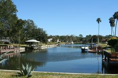 A #tropical #oasis awaits you in #Flagler #Beach! Who wouldn't want a beautiful #waterfront #home?!