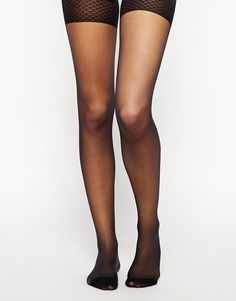 ASOS 20 Denier Cooling Tights With Bum Tum And Thigh Support