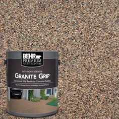 Copper Marble Decorative Flat Interior/Exterior Concrete Floor - The Home Depot BEHR Premium 1 gal. Concrete Floor Coatings, Concrete Bricks, Concrete Floors, Concrete Resurfacing, Concrete Sealer, Concrete Driveways, Epoxy, Flat Interior, Interior Exterior