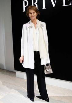 "Famosas en la ""París Fashion Week 2016"": Alta Costura   Charlotte Rampling"