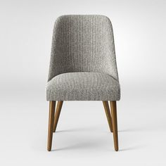 Geller Mid-Century Modern Dining Chair Distressed Gray - Project 62™ : Target