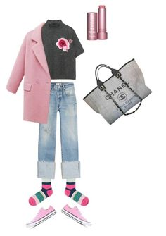 """Senza titolo #88"" by mmarky on Polyvore featuring moda, Gallo, RE/DONE, Zara, Gucci, Converse e Chanel"