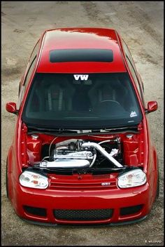 VW GTI. The way I like my women. Shaved and clean. wait, wat